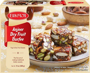 Bikaji Anjeer Dry Fruit Burfee 250Gm