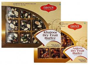 Bikaji Khajoor Dry Fruit Burfee 250Gm