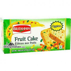 Britania Eggless Fruit Cake 9.7 Oz