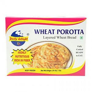 Daily Delight Wheat Porotta 454Gm