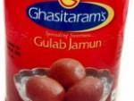 Ghasitarams Gulab Jamun 2.2 Lb