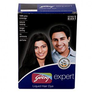 Godrej Permanent Liquid Hair Dye 40Ml