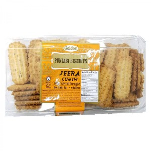 Golden Punjabi Biscuits Jeera Cumin 680 Gm