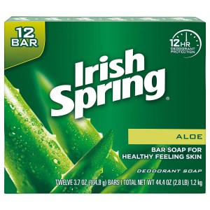 Irish Spring Aloe 3 Pack