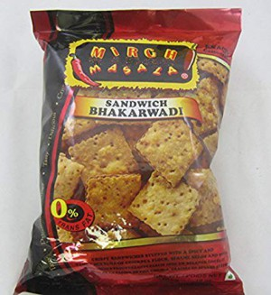 Mirch Masala Sandwich Bhakharwadi 12 Oz