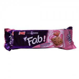 Parle Fab Strawberry 112 Gm