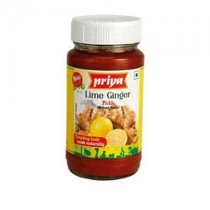 Priya Lime Ginger Without Garlic 300 Gm
