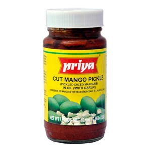 Priya Mango With Garlic Pickle 300 Gm