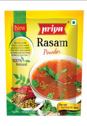 Priya Rasam Powder 100 Gm