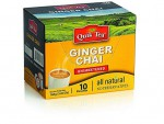 Quick Tea Ginger Chai 10Pouches