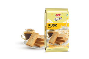 Real Bakers Milk Rusk 300Gm