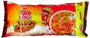 Top Rameen Fiery Chilli Noodles 280Gm`