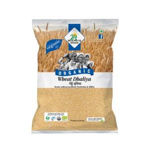 24 Mantra Wheat Daliya 2 Lb